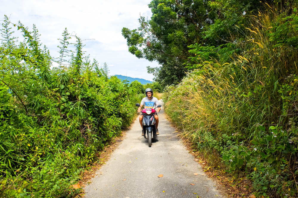 Exploring small roads in Langkawi - Best Things to Do in Langkawi