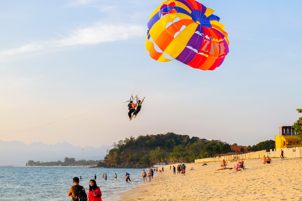 Parasailing on Pantai Tengah - Best Things to Do in Langkawi