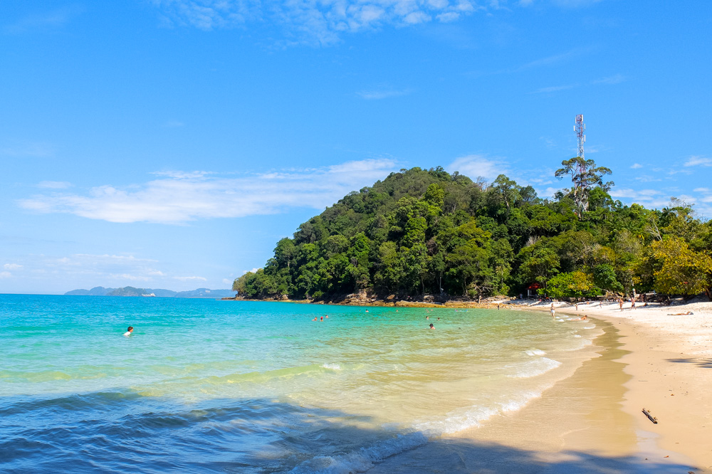 Pasir Tengkorak beach in Langkawi - Best Things to Do in Langkawi
