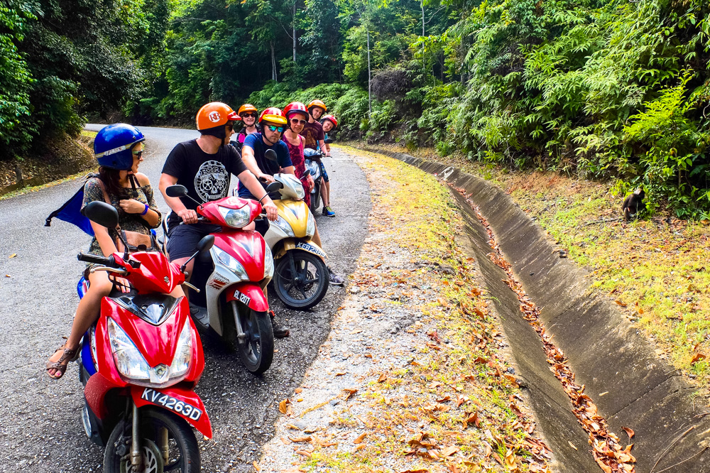 Riding a scooter in Langkawi - Best Things to Do in Langkawi