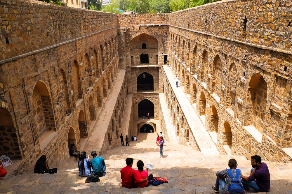 A stepwell in Delhi - 4 weeks in India