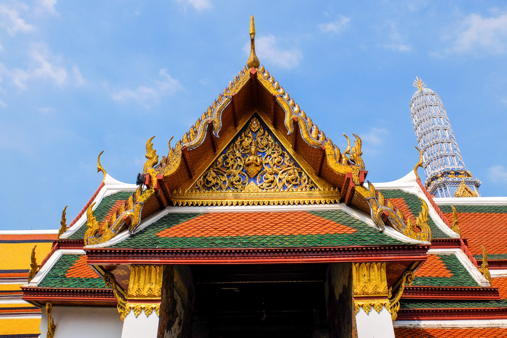 A temple in Bangkok - Best Hotels in Bangkok for Amazing Views