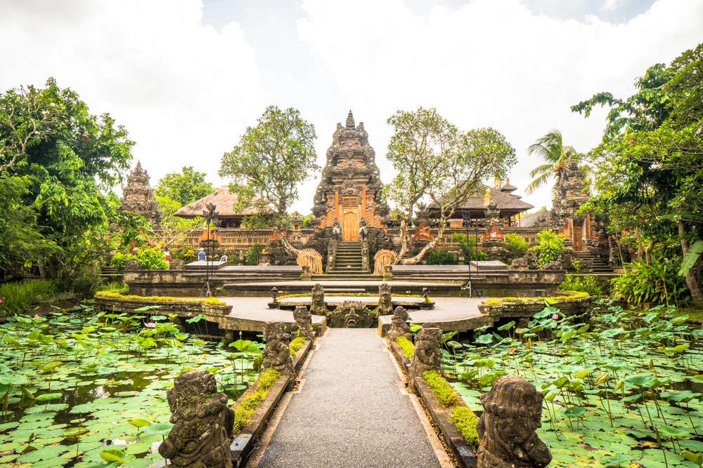 A temple in Ubud, Bali - Best Things to Do in Bali