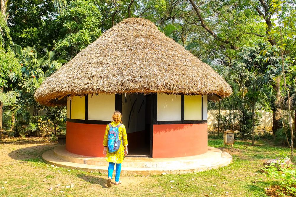 A tribal house in Bhubaneshwar - 4 weeks in India