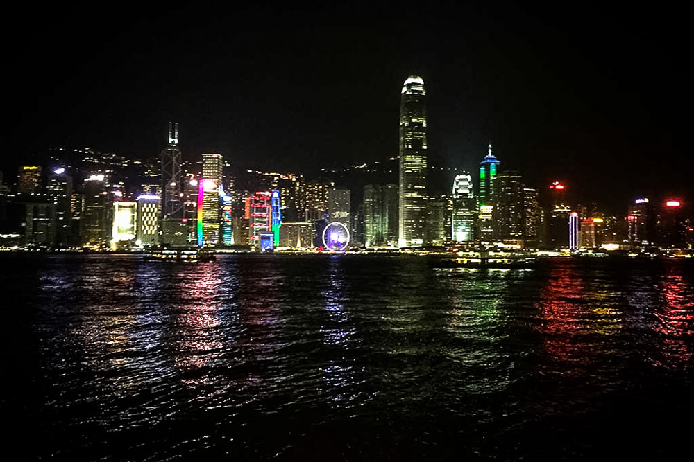 A view from the Tsim Sha Tsui Promenade - Best Things to Do in Hong Kong