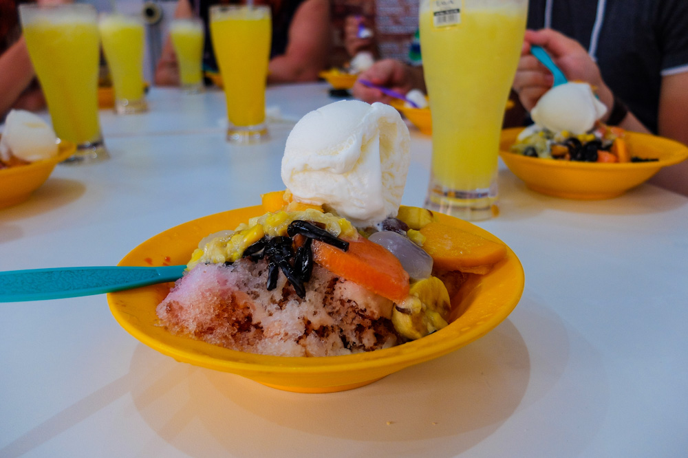 Ais kacang desert in Penang - Best Things to Do in Penang, Malaysia