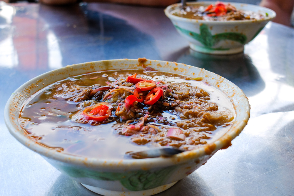 Assam laksa noodles in Penang - Best Things to Do in Penang, Malaysia