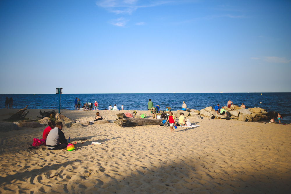 Gdansk beach - Best Places to Visit in Poland