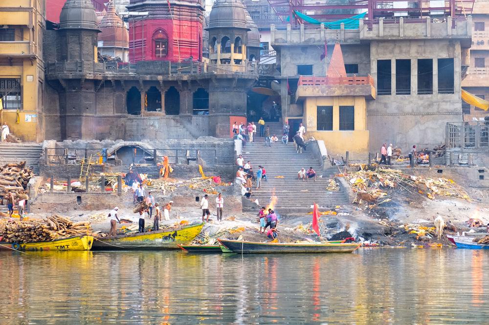 Ghats in Varanasi - 4 weeks in India