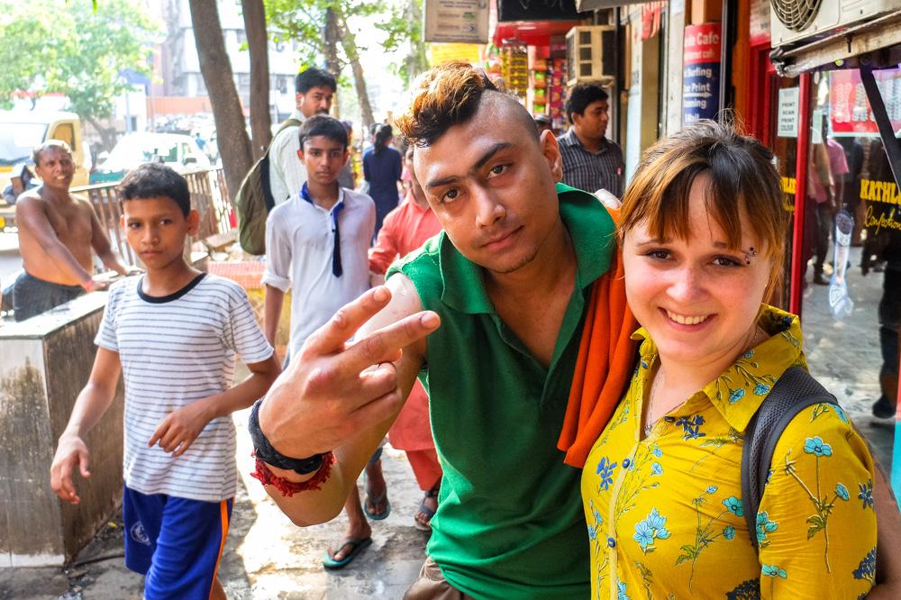 Indian pank in Kolkata - 4 weeks in India
