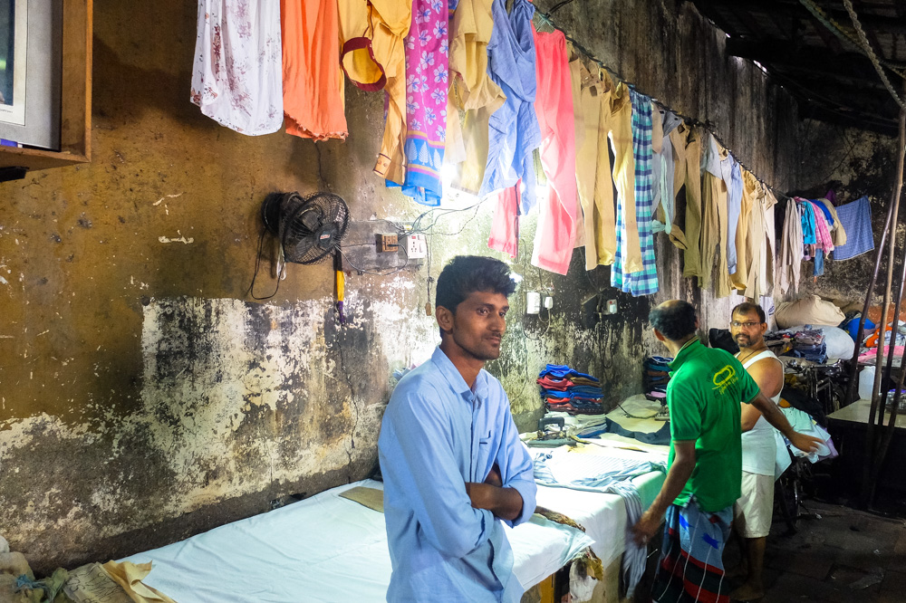 Inside Dhobi Ghat laundry in Mumbai 3 - 4 Weeks in India