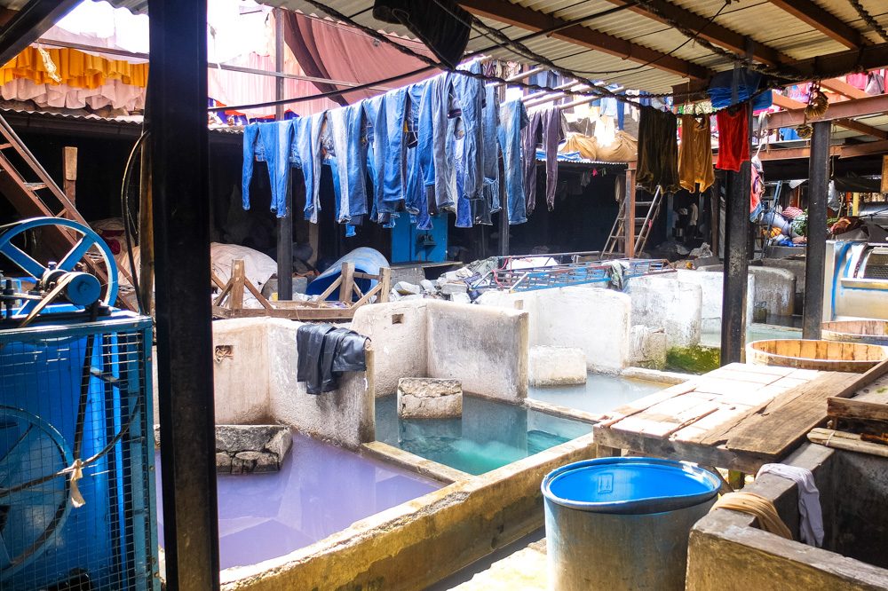Dhobi Ghat laundry in Mumbai - 4 Weeks in India