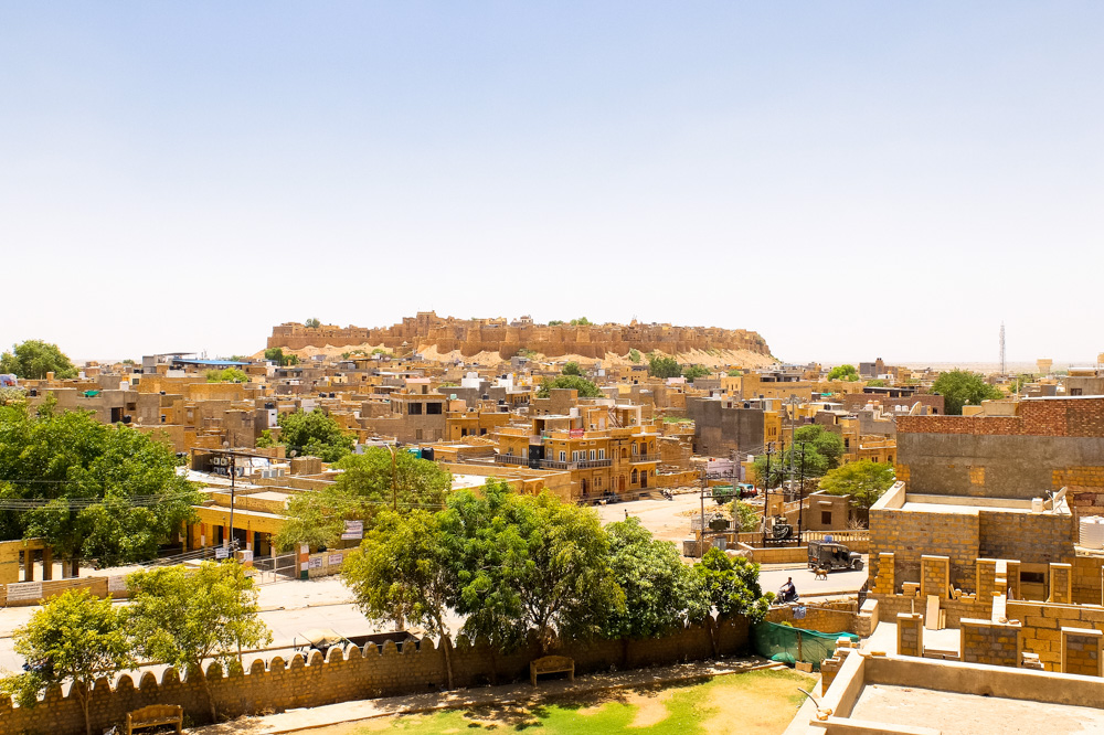 Jaisalmer fort - 4 Weeks in India