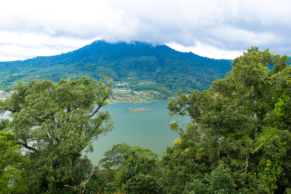 Mountain lake on the way to Munduk in Bali - Best Things to Do in Bali