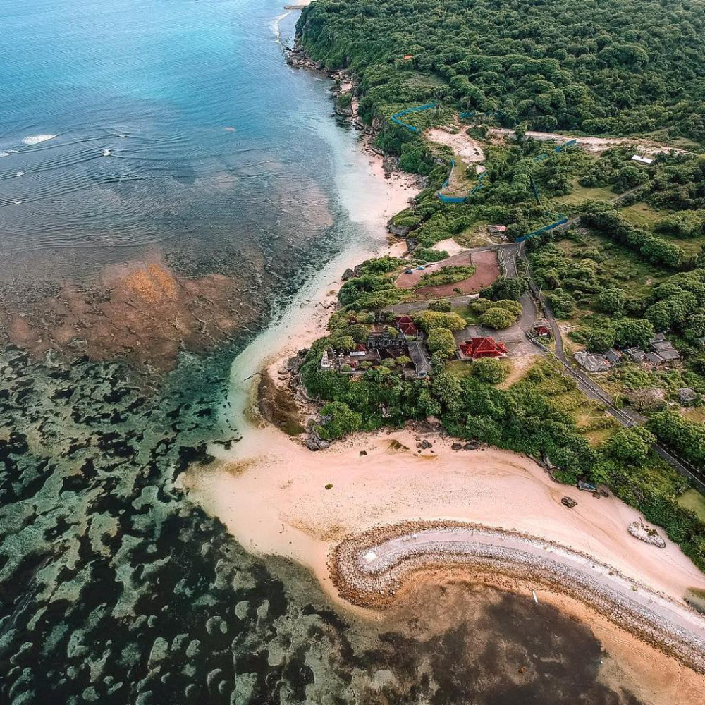 Nusa Dua from above - Best Things to Do in Bali