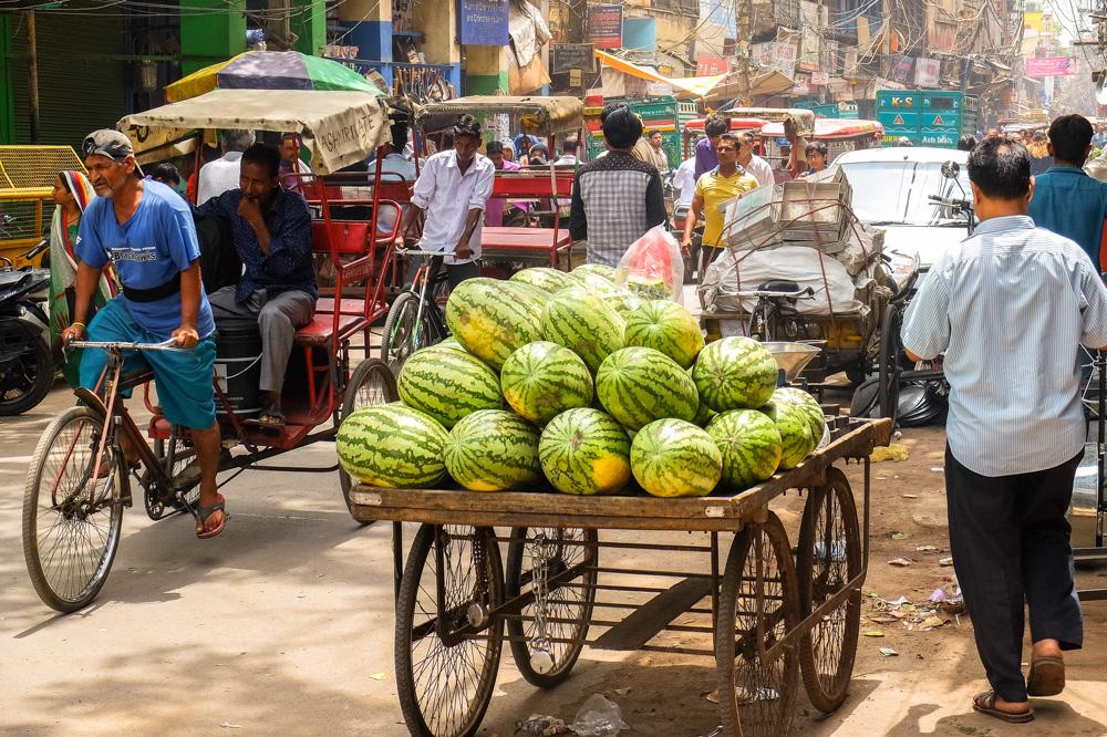 Old Delhi street - 4 weeks in India