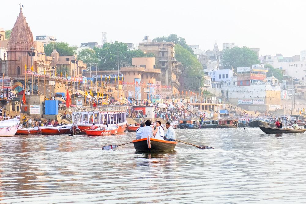 River Ganges in Varanasi - 4 weeks in India