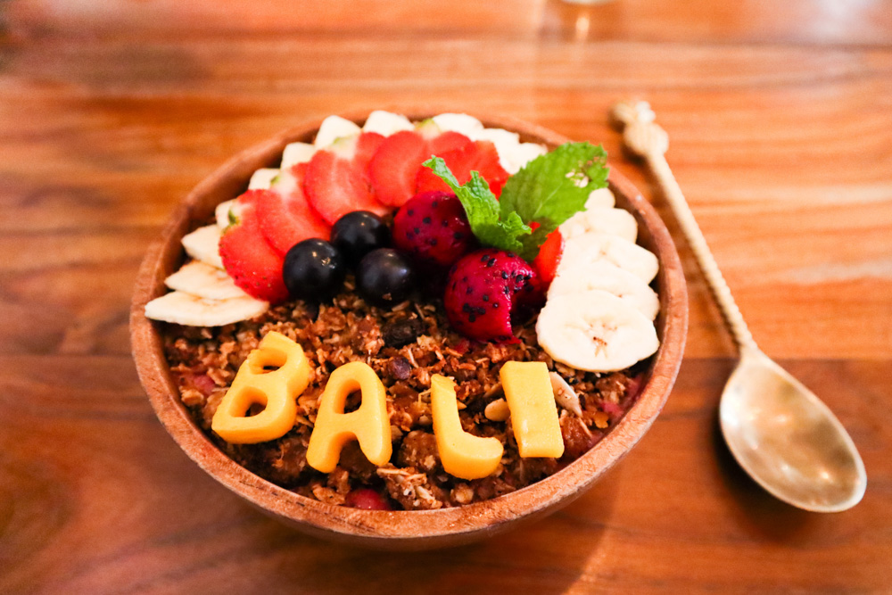 Smoothie bowl - Best Things to Do in Bali