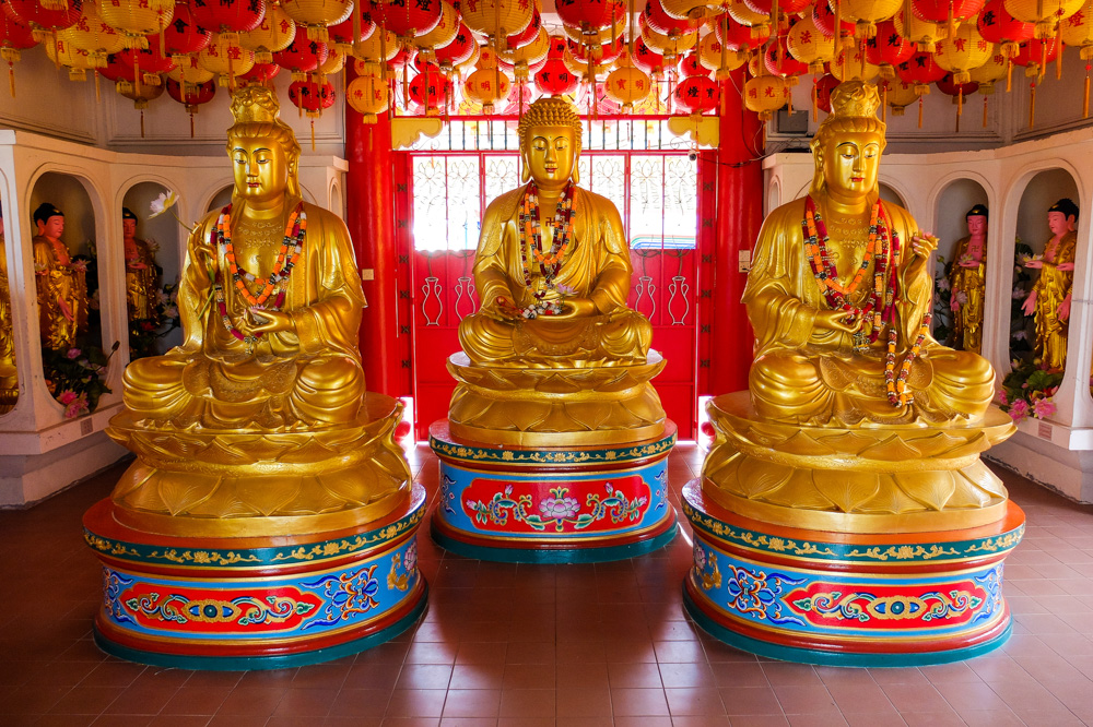 Statues in Kek Lok Si Temple, Penang - Best Things to Do in Penang, Malaysia
