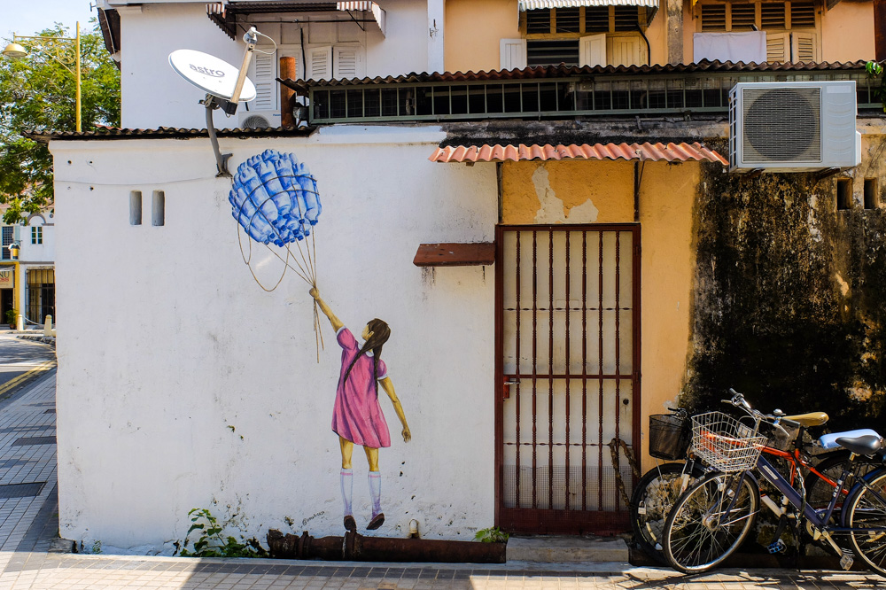 Street art in Penang - Best Things to Do in Penang, Malaysia