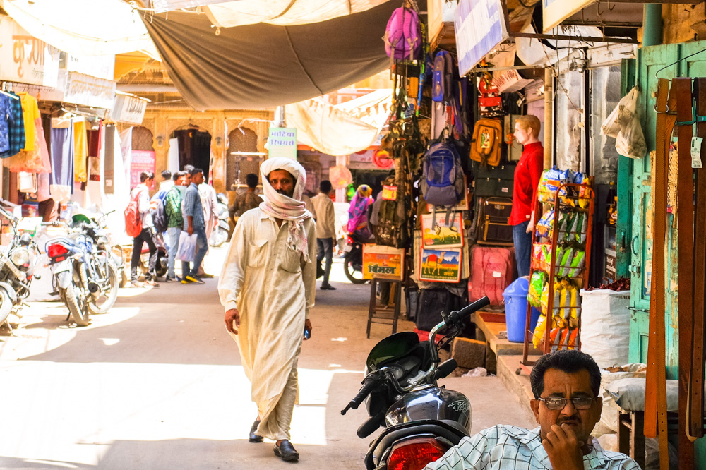 Street in Jaisalmer - 4 Weeks in India