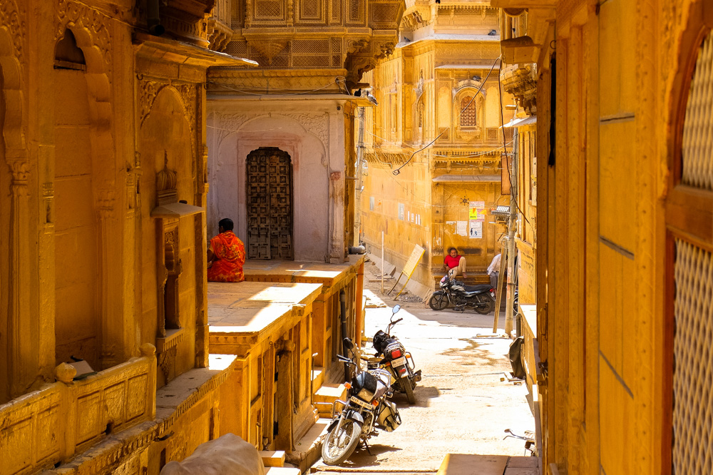 Streets of Jaisalmer - 4 Weeks in India