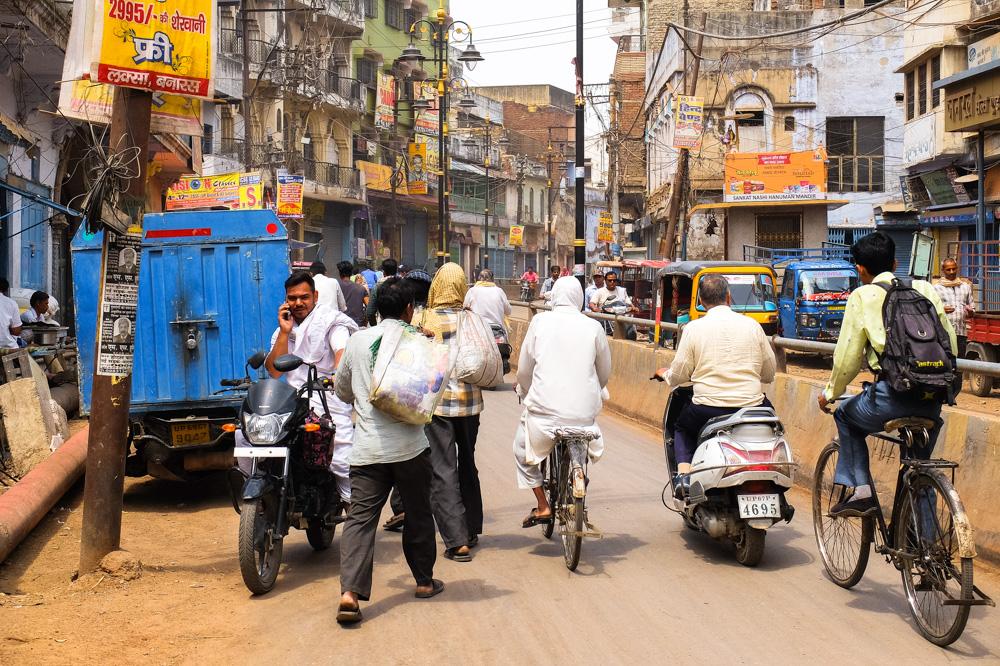 Streets of Varanasi - 4 weeks in India