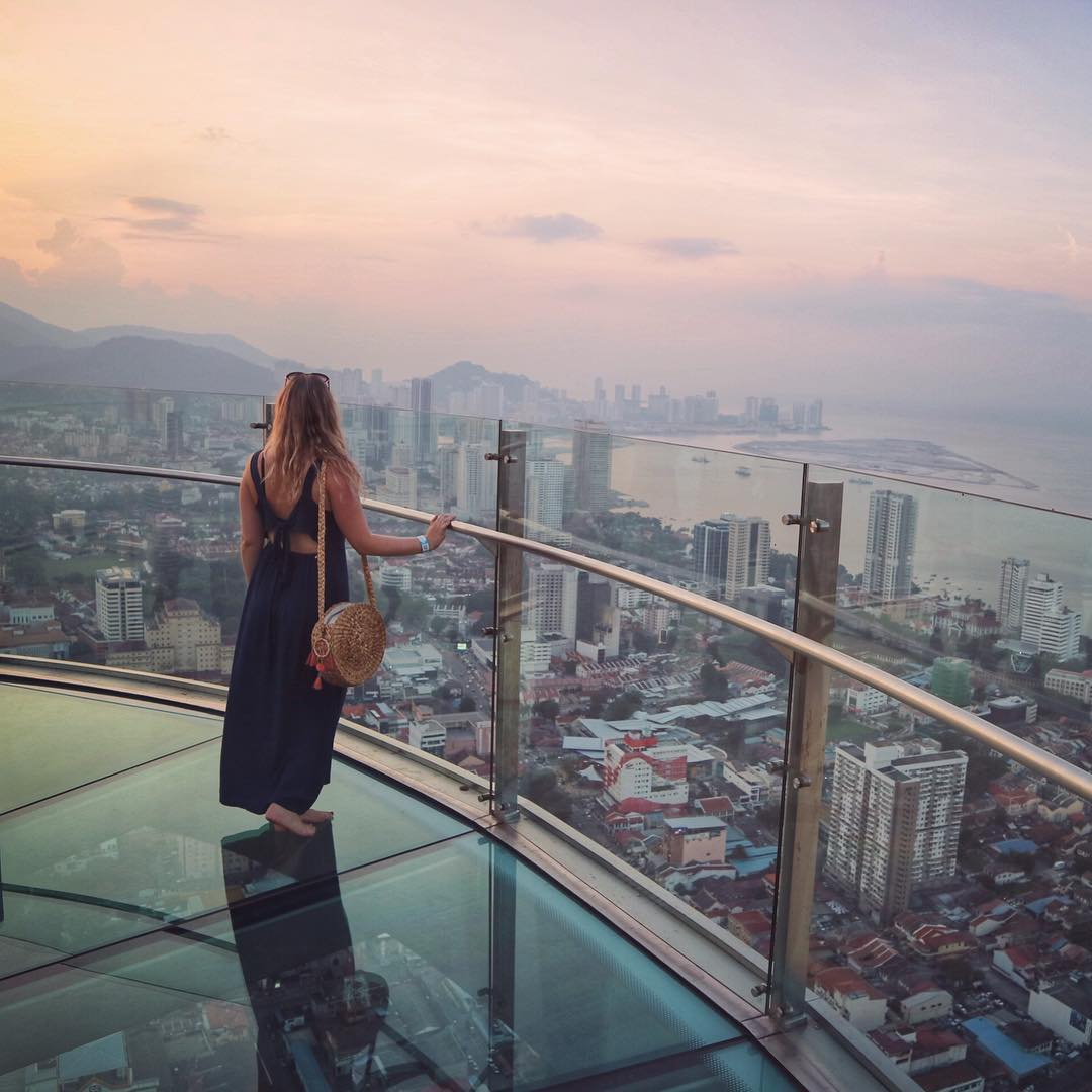 The Rainbow Skywalk at The Top - Best Things to Do in Penang, Malaysia