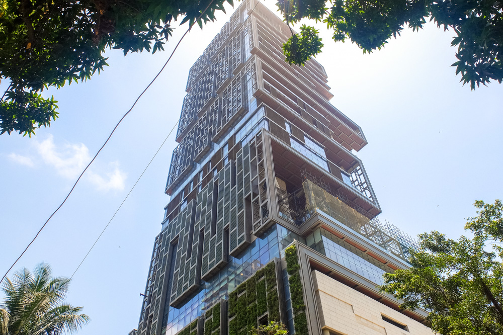 The most expensive private house in Mumbai - 4 Weeks in India