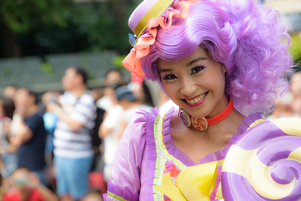 Woman at Hong Kong Disneyland - Best Things to Do in Hong Kong