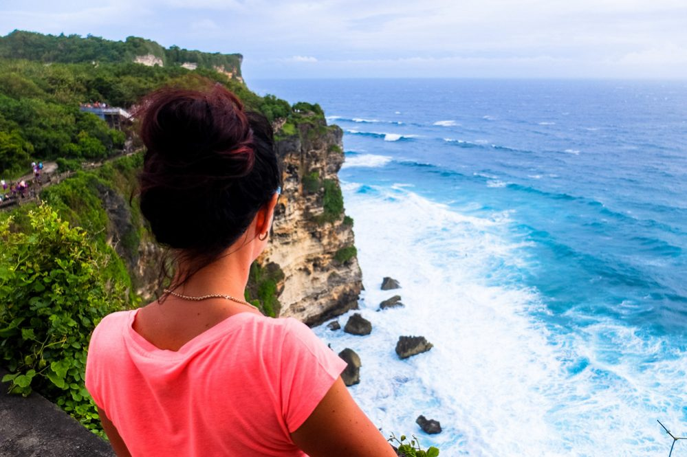 Woman looking into the distance - Best Things to Do in Bali