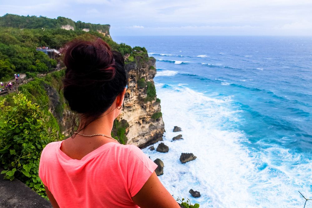 A woman looking into the distance - Bali, Indonesia