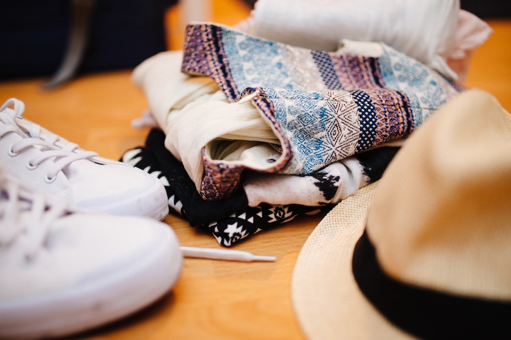 Clothes and Shoes - Packing Essentials