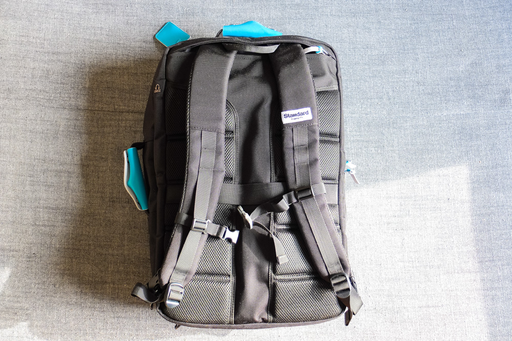 Standard's Carry-on Backpack - Back