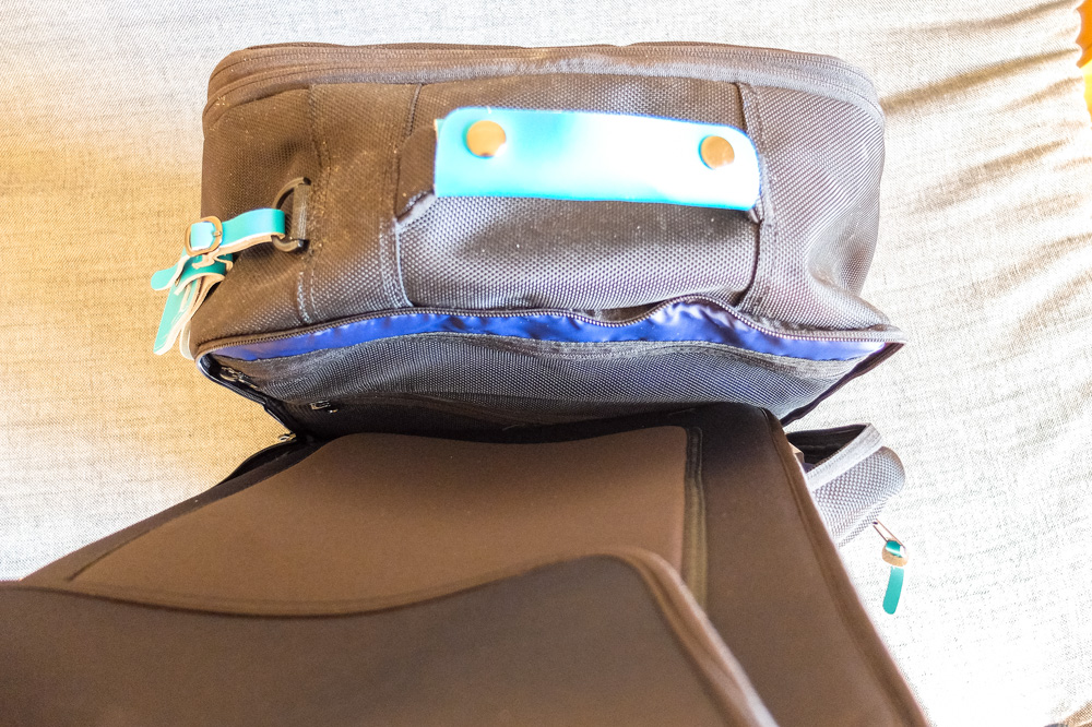 Standard's Carry-on Backpack - Laptop compartment