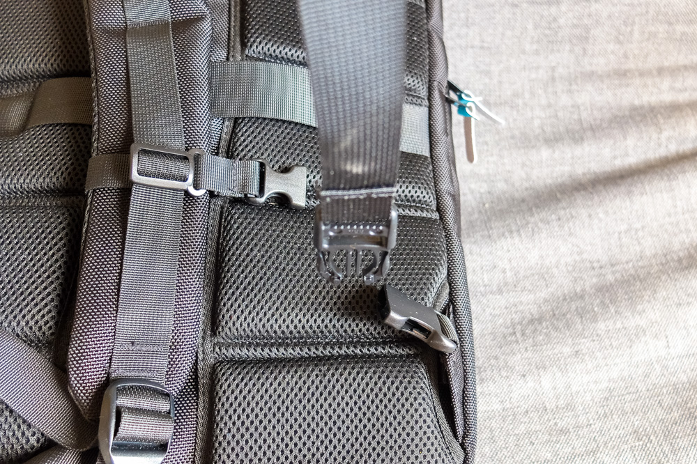 Standard's Carry-on Backpack backpack straps buckle
