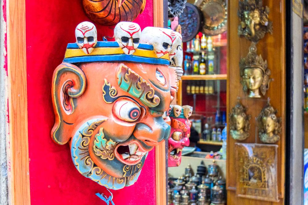 Colorful souvenirs - Kathmandu, Nepal