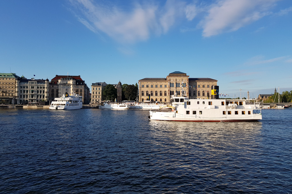 Explore Stockholm from a boat deck