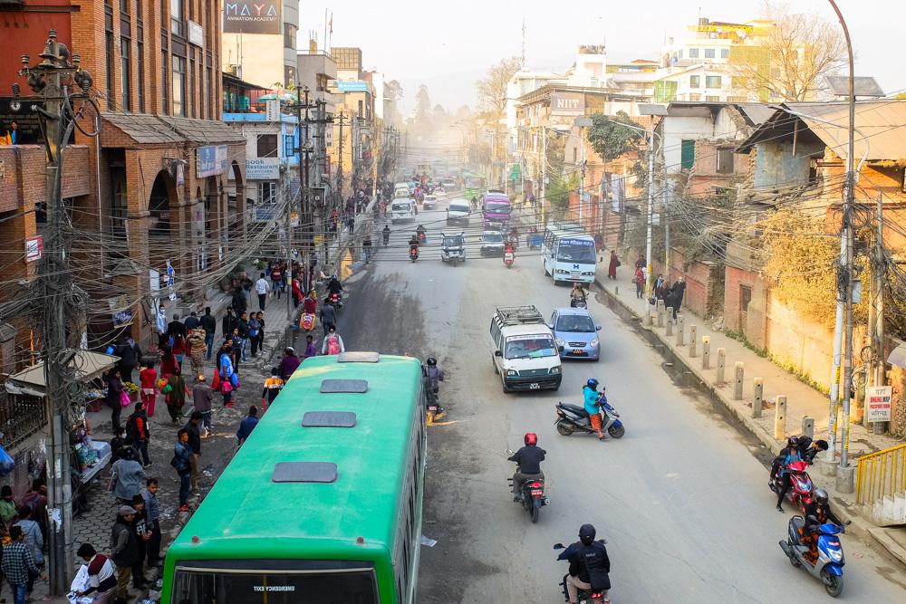 Street of Kathmandu, Nepal