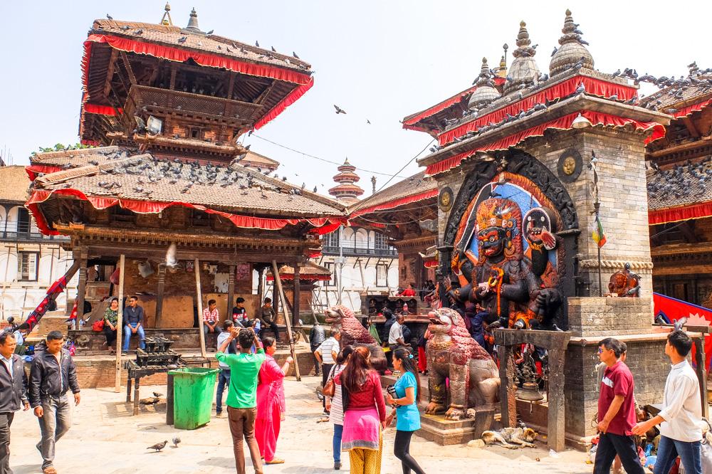 Temples of Durbar Square - Kathmandu, Nepal