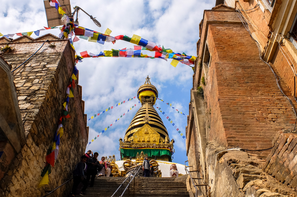 Swayambhunath Stupa, Monkey Temple - One of the top places to visit in Kathmandu, Nepal