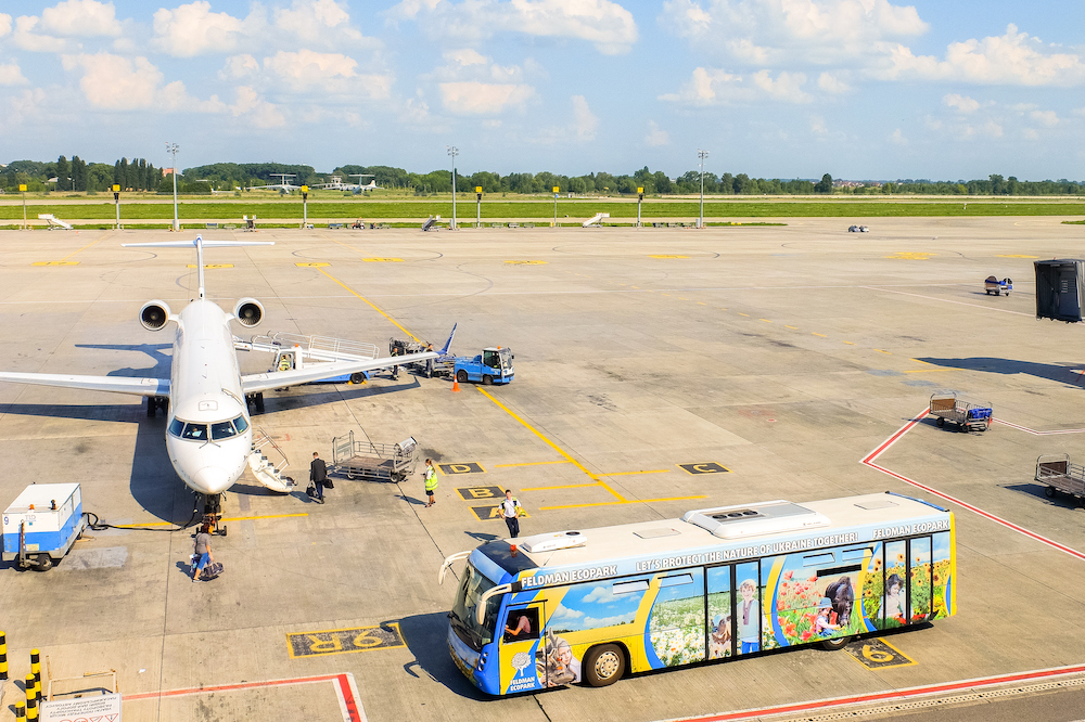 Boryspil International Airport, Kiev