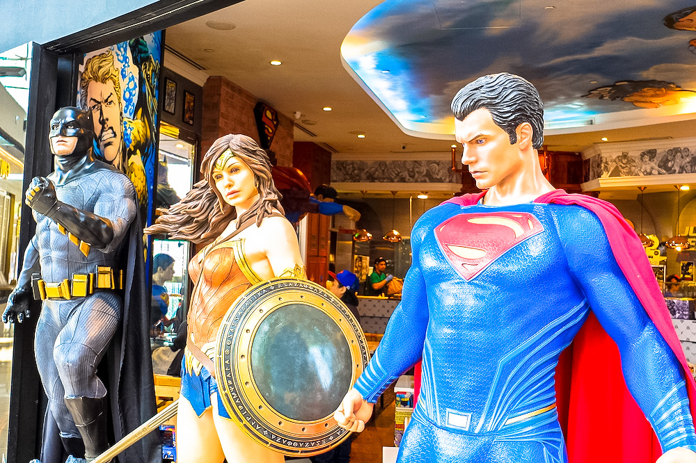 DC Comics Cafe in Singapore
