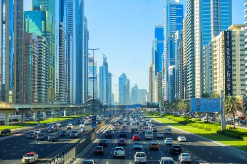 Dubai street scene
