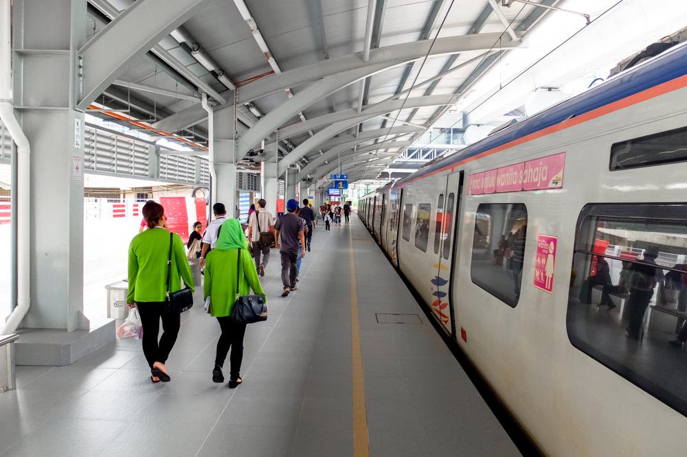 Kuala Lumpur city train