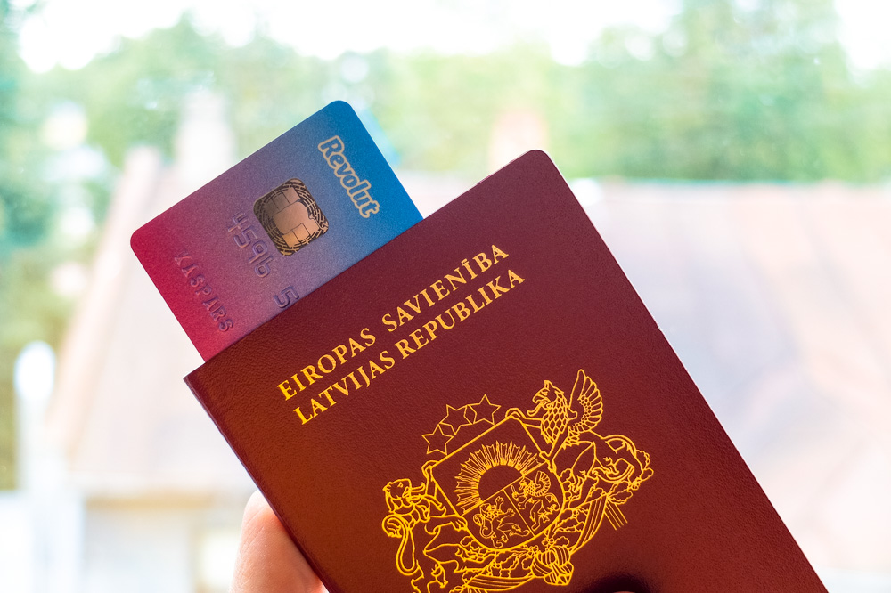 Revolut Debit Card and Passport