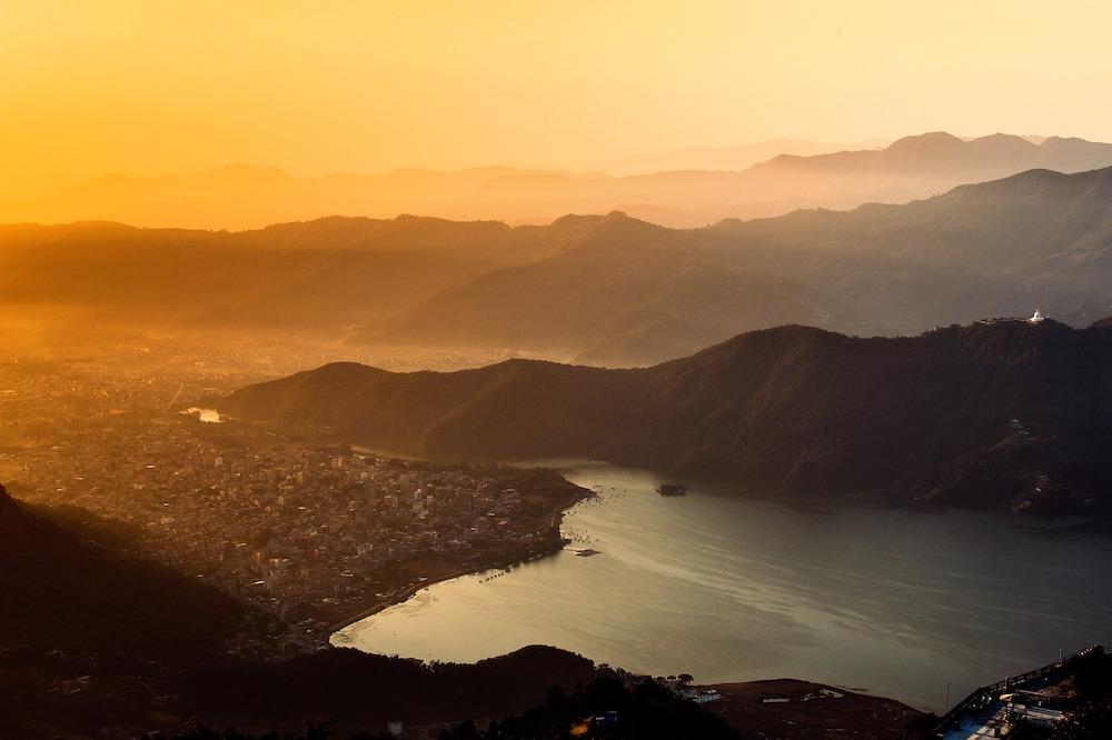 Sunrise at Sarangkot Viewpoint, Nepal