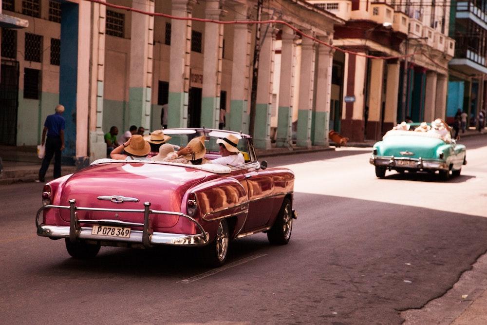 Traveling in Cuba