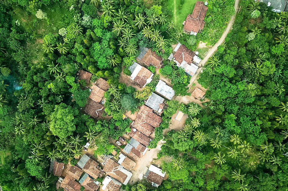 Village from above