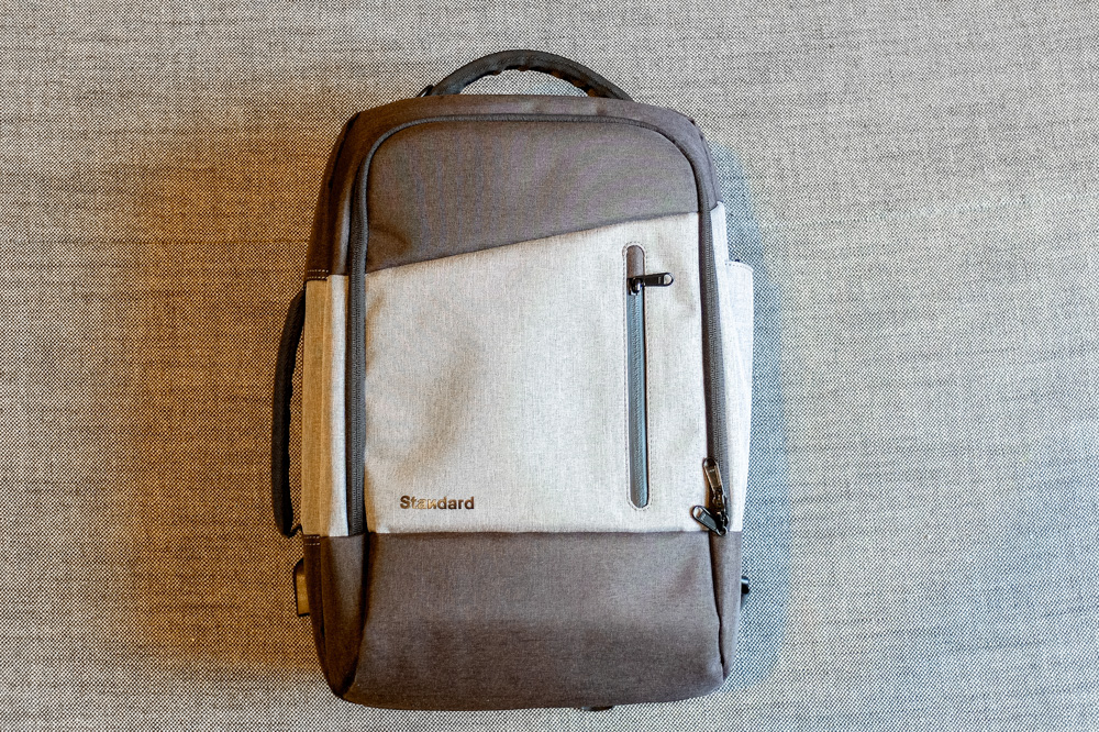 Standard Luggage Daily Backpack - front